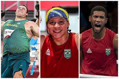 Agenda olímpica: dois baianos e um romântico buscam a glória na madrugada