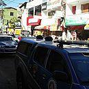 Policiais estão ocupando as ruas do bairro e adjacências