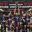 PSG venceu o Monaco por 4x0 na final da Supercopa da França