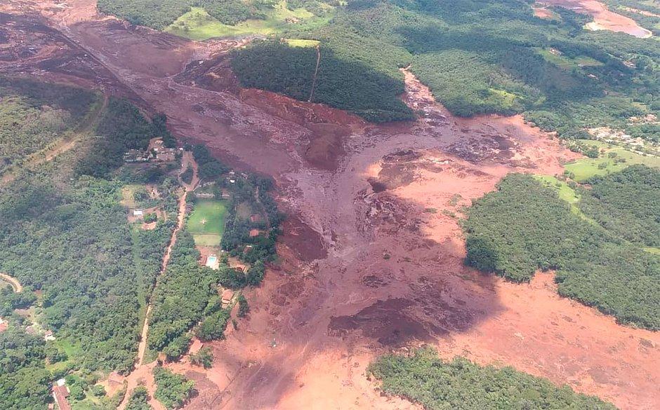 Barragem da Vale se rompe em Brumadinho, na Grande Belo Horizonte