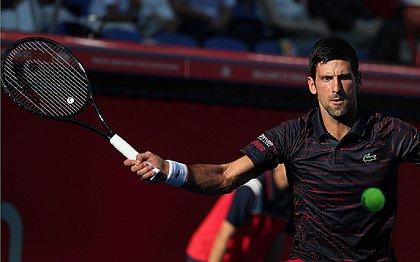 Djokovic vence na estreia em simples no Torneio de Tóquio
