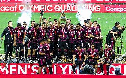 Seleção mexicana foi a campeã do Pré-Olímpico da Concacaf