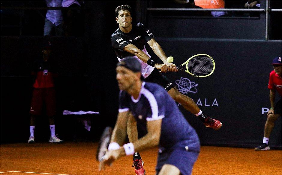 Brasileiro Marcelo Melo caiu na semifinal do Rio Open