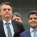 Bolsonaro e ACM Neto em julho de 2019, quando o presidente esteve em Salvador