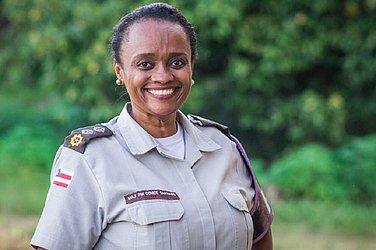 Major Denice Santiago é idealizadora e comandante da Ronda Maria da Penha na PM-BA