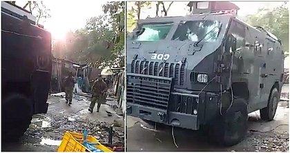 Rio: blindado do Bope atinge casas na Cidade de Deus e moradores fazem protesto