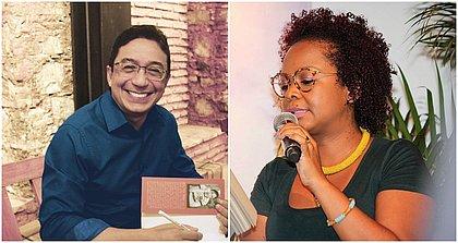 """A conversa de Marcus Vinicius e Lívia Natália gira em torno da palavra """"água""""o"""