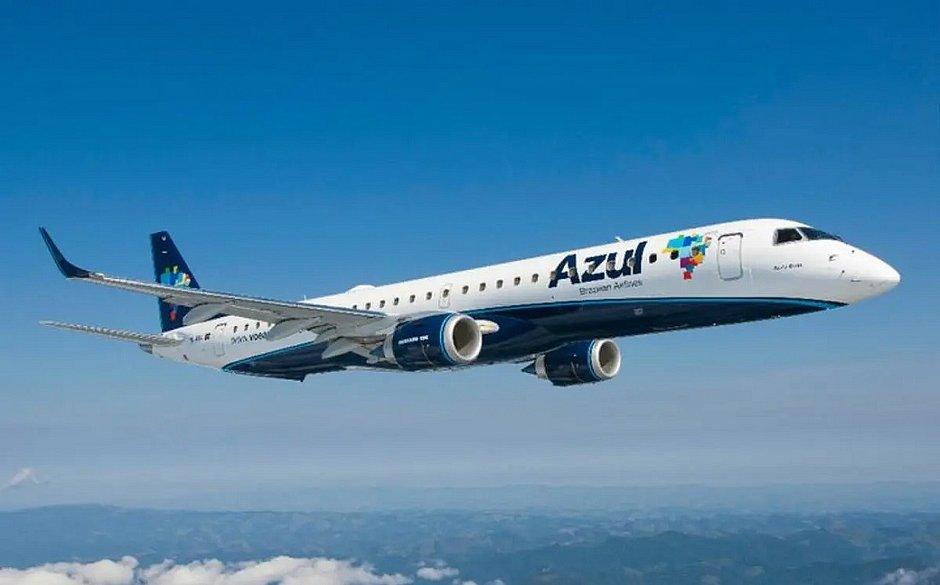Vitória da Conquista e Ilhéus voltarão a receber voos da Azul em agosto