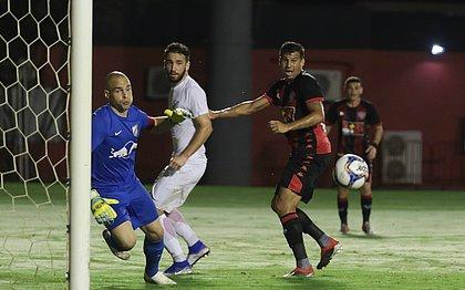 Leão de Neto Baiano perdeu para o Bragantino por 2x0, no Barradão