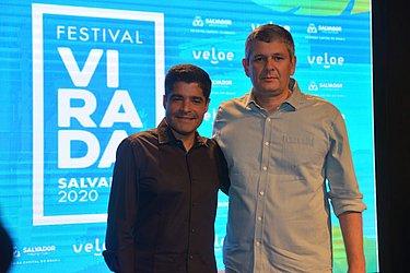 ACM Neto e Marcelo Costa