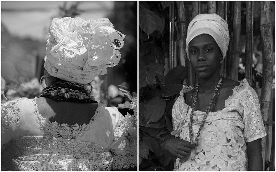 A mostra Baianas: Iê Acarajé, Iê Abará, que será aberta amanhã,  reúne 35 imagens feitas  por 15 fotógrafas
