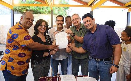 Prefeitura assina convênio e vai repassar R$ 200 mil para o Projeto Axé