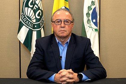 Com quadro grave de covid, presidente do Coritiba tem piora