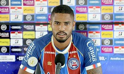 Treinando há uma semana, Gabriel Novaes garante que está pronto para estrear pelo Bahia