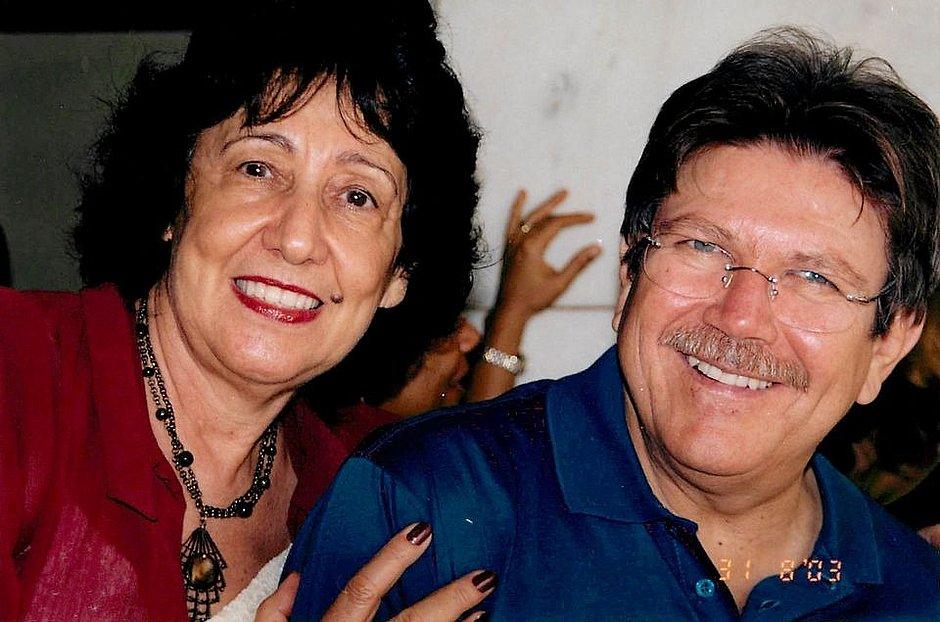 Normelia e Zilton Rocha (Foto: Acervo Pessoal)
