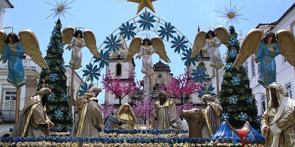 Pelourinho terá programação especial de Natal com distribuição de presentes