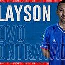 Clayson assinou com o Bahia até dezembro de 2022