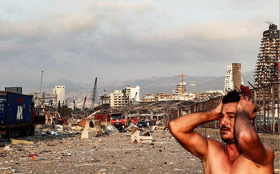 Beirute: passa de 70 o número de mortos por explosão gigantesca