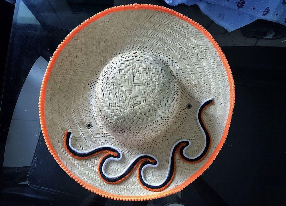 Aba decorada e objetos bordados estão entre as opções para deixar o  acessório mais estiloso (Foto  Divulgação  PalhAxé) 9e4e470b477