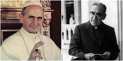 Papa Francisco canoniza Oscar Romero e Paulo VI