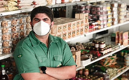 Leonardo Santos éempresário e proprietário da marca Fazenda Esperança Agropecuária