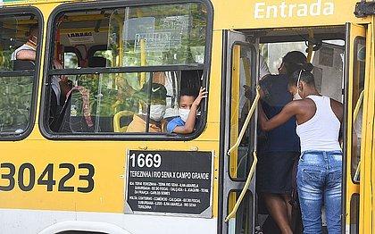 Região vai operar com 60% da frotas enquanto em toda a cidade 40% dos ônibus estão nas ruas