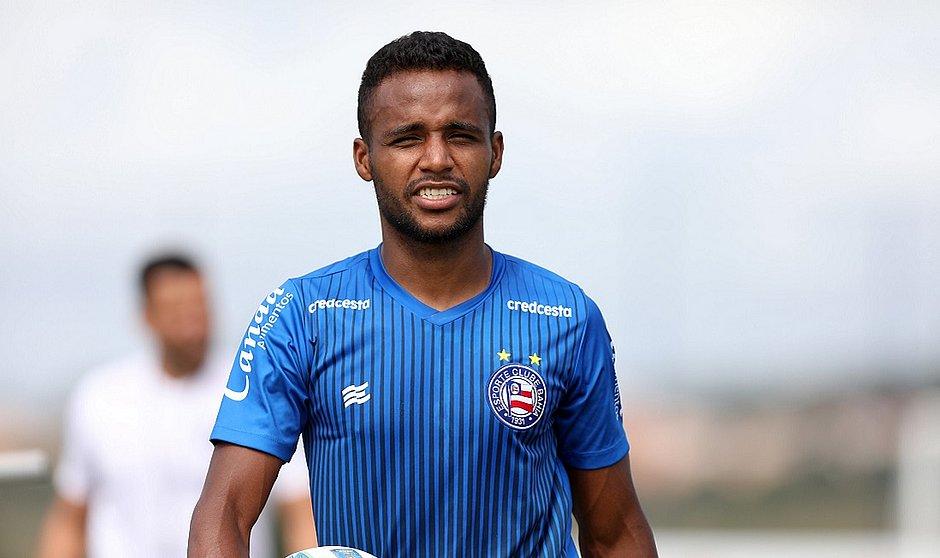 Élber vive bom momento e tem sido um dos destaques do Bahia na temporada 2020