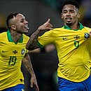 Everton Cebolinha e Gabriel Jesus marcaram os gols que garantiram o título da Copa América para o Brasil