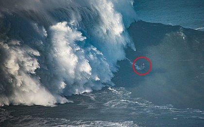 Maya Gabeira pode entrar para a história do surfe