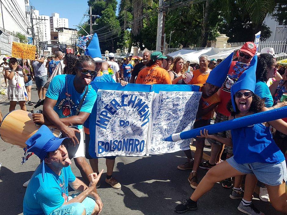 Após desfile no bairro, Mudança do Garcia chega ao Campo Grande