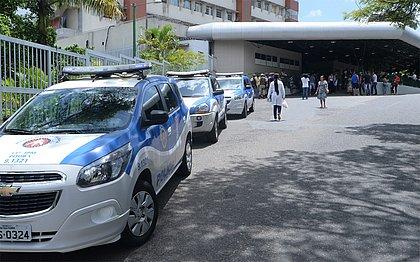 Dois taxistas são alvo de bala perdida em tiroteio no Nordeste de Amaralina