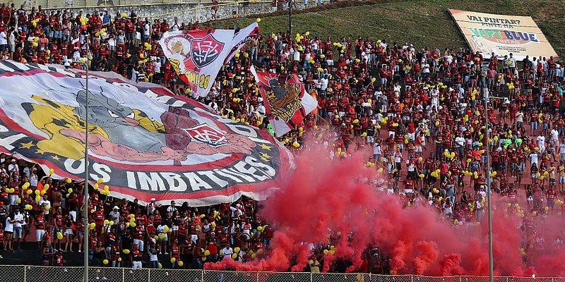 Historicamente, Vitória pontua mais no Barradão do que fora; veja