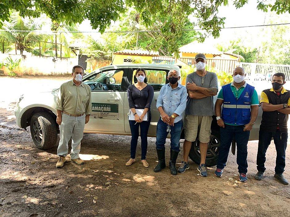 Prefeitura de Camaçari faz visita técnica para definir destino da gangue canina de Itacimirim