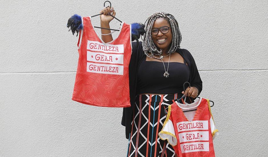 Najara Black percebeu que ajudar era uma forma interessante de retribuir e tornar o mundo melhor