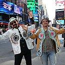 Dois forrozeiros em New York