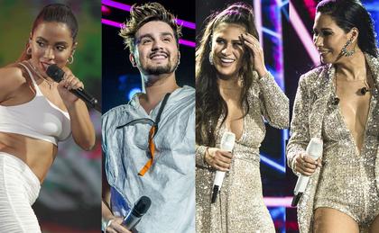 Anitta, Luan Santana e Simone e Simaria se apresentam no Festival da Virada hoje