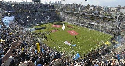La Bombonera, do  Boca Juniors, será o palco do primeiro jogo da decisão da Libertadores