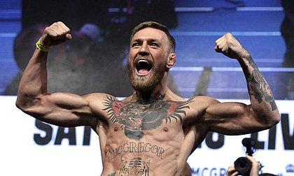 O lutador de MMA e estrela do UFC Conor McGregor superou Messi e Cristiano Ronaldo