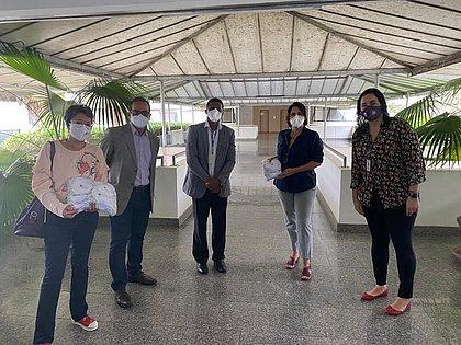 300 máscaras de proteção são doadas para detentas baianas