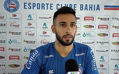 Renan Guedes será um dos titulares do Bahia contra o Santos