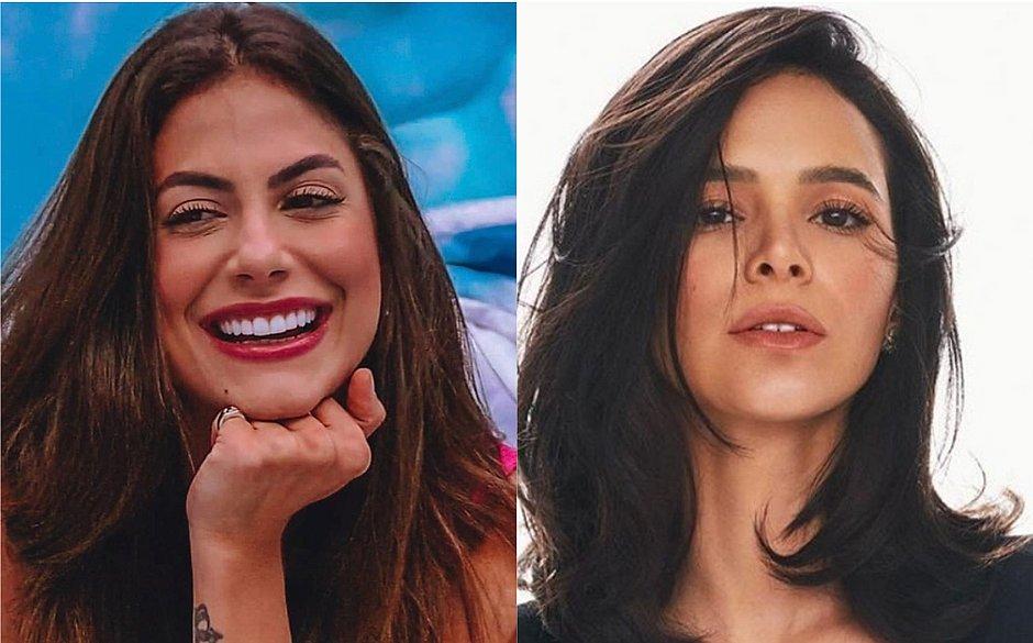 Bruna Marquezine pede desculpas a Mari Baianinha: 'você é uma pessoa maravilhosa'