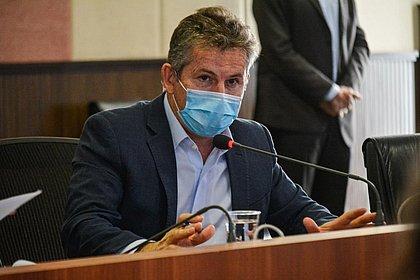 Governador do Mato Grosso é internado em São Paulo com pneumonia
