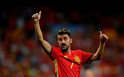 Aos 37 anos, David Villa anuncia que vai se aposentar em janeiro