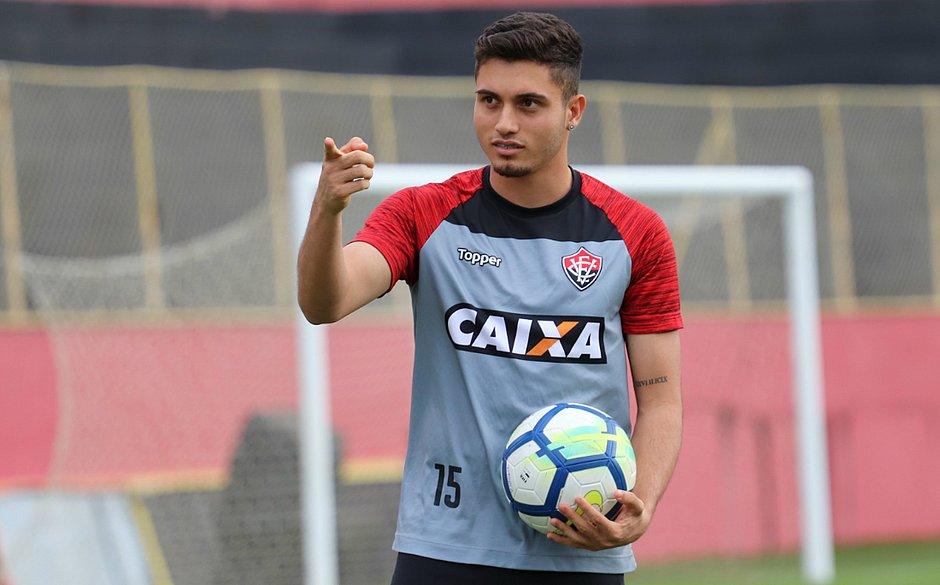 92207cd3d67c9 Luan é uma das apostas do Vitória na estreia da temporada contra o CSA  (MAURICIA DA MATTA   EC VITORIA)