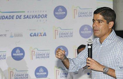 Prefeito ACM Neto lançou a 2ª edição da Maratona Cidade de Salvador