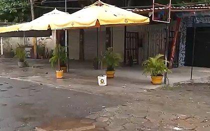 Bandidos invadem bar no Stiep e cliente leva tiro nas costas