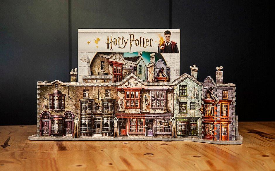 Harry Potter ganha quebra-cabeça 3D inspirado em locais da saga