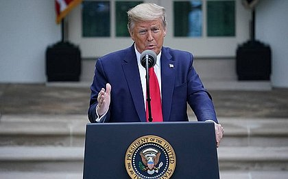Trump diz que não vai participar de debate virtual: 'Não vou perder meu tempo'