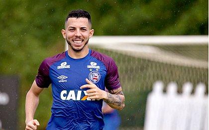 Flávio foi titular diante do São Paulo