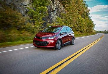 Produzido nos Estados Unidos, o Bolt é a opção elétrica da Chevrolet no país